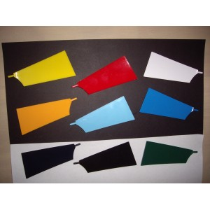 Basic Blade set of 10 [Bow and Stroke side ] Colour Options
